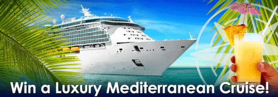 Win A Luxury Mediterranean Cruise At Harry Casino Netent