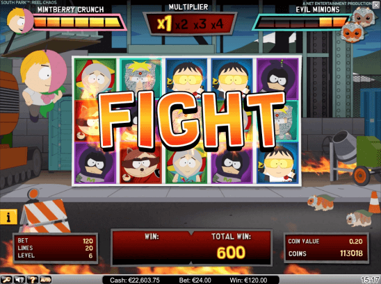 South park casino game
