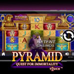 Pyramid: Quest for Immortality Touch® beschikbaar in de mobiele casino's