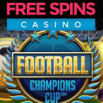 Score met de gratis spins voor de Football: Champions Cup™ video slot