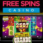 Spiñata grande video slot fiesta bij Free Spins Casino