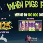 NetEnt kondigt op tekenfilms gebaseerde When Pigs Fly™ video slot aan
