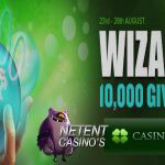 10.000 Wizards Giveaway promotie bij CasinoLuck