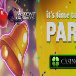 Zesdaagse It's Time to Party promo bij CasinoLuck