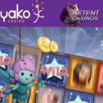 Win €250 met Hook's Heroes™ video slot challenge bij Yako Casino