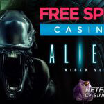 Buitenaardse Monsterspins voor Aliens™ video slot bij Free Spins Casino