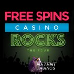 Activeer 10 Monsterspins (elk €2) voor de bekende rock video slots