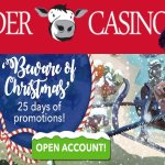Polder Casino's adventskalender functioneert ook in het weekend!