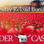 Polder Casino's eerste Friday Reload Bonus van 2017