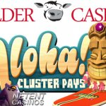 Gratis spins Aloha! video slot + challenge bij Polder Casino