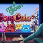 Mr Green's gratis spins promotie voor de nieuwe NetEnt video slot Copy Cats™