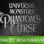 Nog een week tot aan de Universal Monsters™ The Phantom's Curse video slot lancering