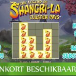 NetEnt kondigt The Legend of Shangri-La: Cluster Pays™ video slot aan