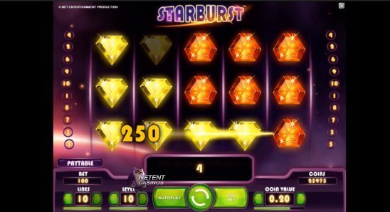 Starburst-slot-NetEnt-main-game