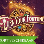 NetEnt's Turn your Fortune™ video slot brengt innovatieve gameplay vanaf januari 2019