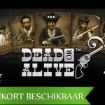 Giddy up partna', het is tijd om je voor te bereiden op de Dead or Alive 2 video slot!!