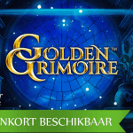 De aankomende Golden Grimoire™ video slot biedt magie en mysterie