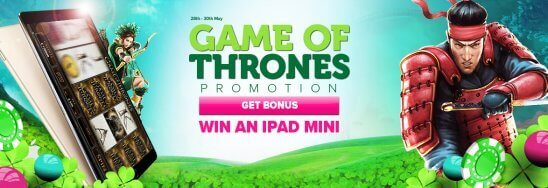 Game of Thrones Casino-promotie CasinoLuck