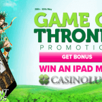 CasinoLuck gaat los met Game of Thrones Super Promo