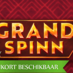 NetEnt presenteert aankomende 1-winlijn tellende Grand Spinn™ video slot