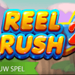 Stampvol met features, is de Reel Rush 2™ video slot nu te spelen bij de NetEnt Casino's