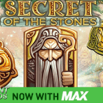 NetEnt breidt Max video slot serie uit met Secret of the Stones MAX™