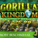 Machtige gorilla staat centraal in de aankomende Gorilla Kingdom™ video slot