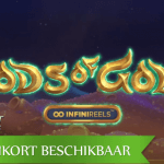 NetEnt introduceert oneindig veel rollen in de aankomende Gods of Gold INFINIREELS™ video slot
