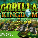 Nieuwe Gorilla Kingdom™ video slot brengt je tot diep in de Congolese jungle