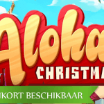 Tiki verkleed als Kerstman in NetEnt's aankomende Aloha Christmas™ video slot