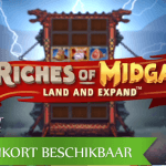 NetEnt kondigt eerste Buy Feature spel aan met de Riches of Midgard™ video slot