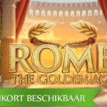 Februari belooft bergen gouden munten met de Rome The Golden Age™ video slot