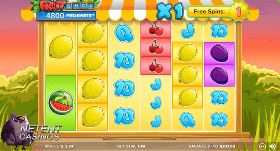 Fruit Shop Megaways™ free spins