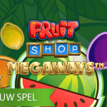 Fruit Shop Megaways™ video slot is NetEnt's 3e Megaways spel