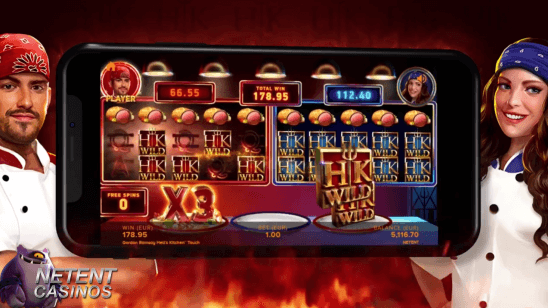 Gordon Ramsay Hell's Kitchen™ video slot cook off