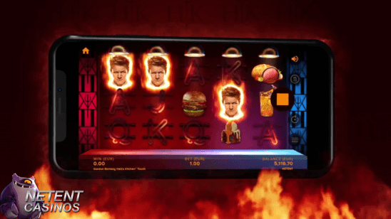 Gordon Ramsay Hell's Kitchen Touch® Activation Free Spins feature