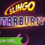 Bingo + video slot + Starburst = Slingo Starburst™