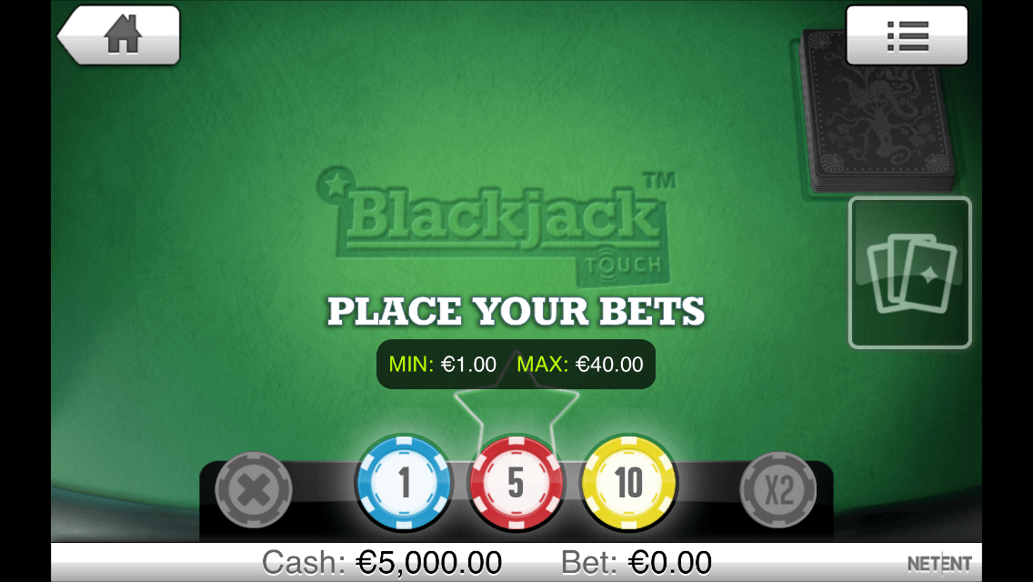 blackjack netent casino