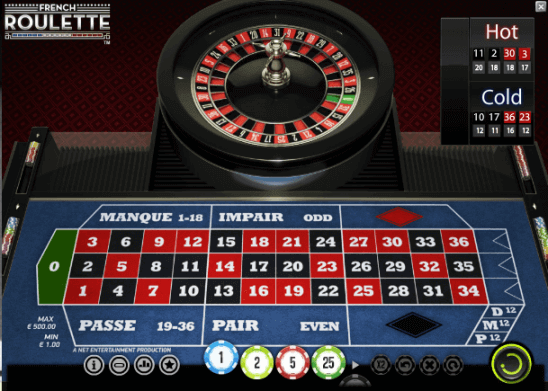 Table games NetEnt