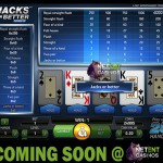 Soon at the Netent Casinos: Jacks or Better Double Up video poker