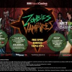 Zombies vs Vampires casino promotion at NextCasino