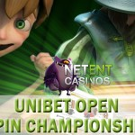 10 Free Packages for the Unibet Open Spin Championship