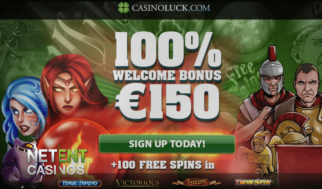 100 free spins netent
