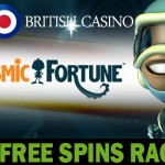 Win 500 free spins on the newest NetEnt slot Cosmic Fortune
