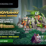 Win 1000 free spins on the Wild Turkey slot at CasinoLuck