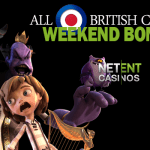 Weekend starts with 35% Bonus at All British Casino