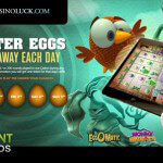 Easter Eggs Giveaway at CasinoLuck