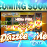 Dazzle Me Touch® will bring dazzling slot features