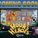 NetEnt announces Hook's Heroes Touch®