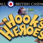 Up to 60 Free Spins on Hook's Heroes™ slot at All British Casino